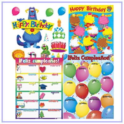 Cumpleaños pósters
