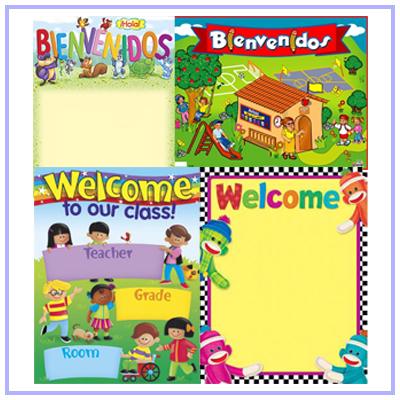 Bienvenidos posters