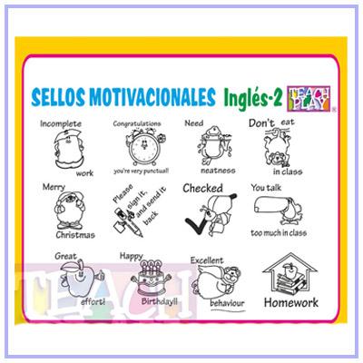 Sellos Motivacionales En Inglés Silvia García Velázquez