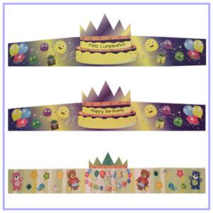 Coronas de cumpleaños
