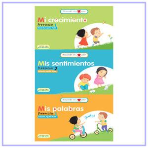 Serie Educando con amor - Preescolar